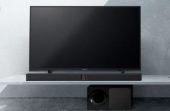 Soundbar subtire Sony HTCT291, 300W